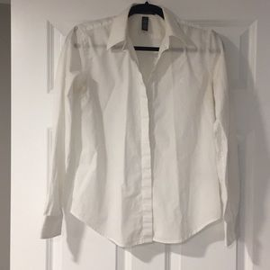 Ralph Lauren white button down Size Mp